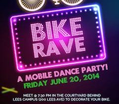 Ottawa's 1st BIKE RAVE – a mobile dance party!