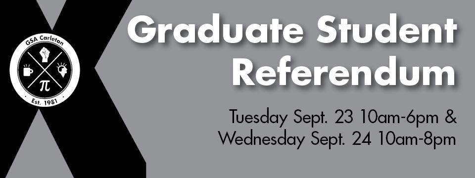 Graduate Student Referendum: University Centre Levy