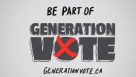 Generation Vote: City of Ottawa Elections are October 27