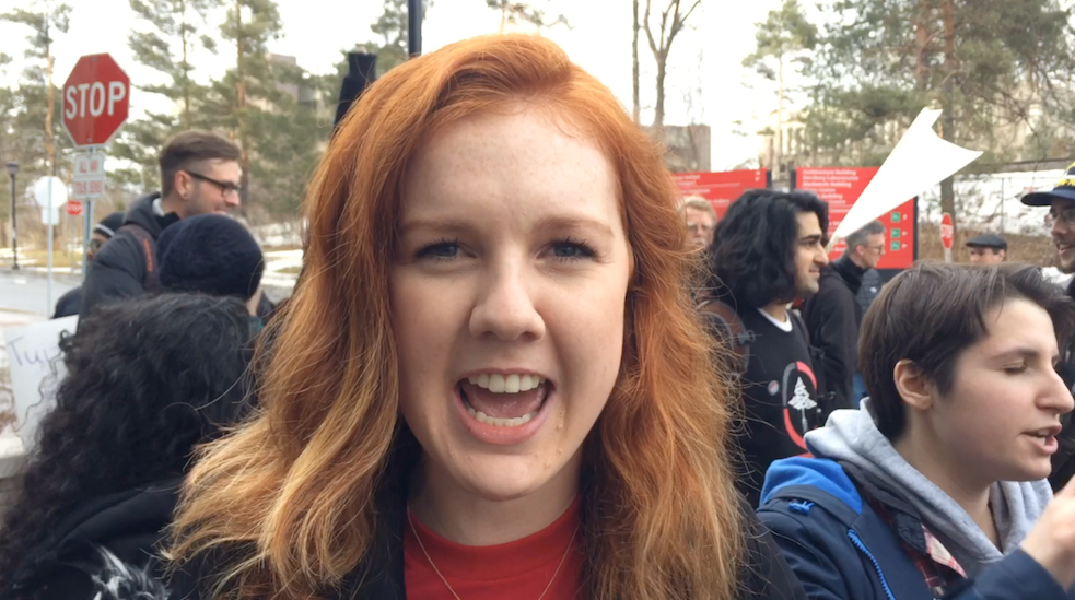 Tuition Fees Are Too Damn High Rally Video