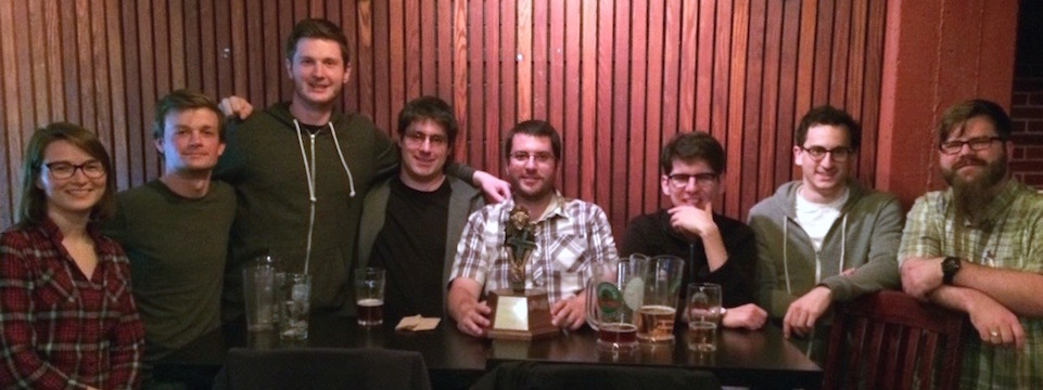 Mike's Place Trivia 2014-15 Season Winners