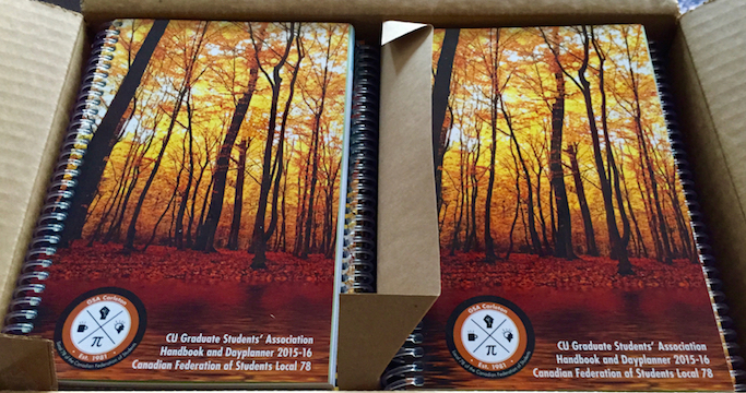 Handbooks for 2015-16 have arrived