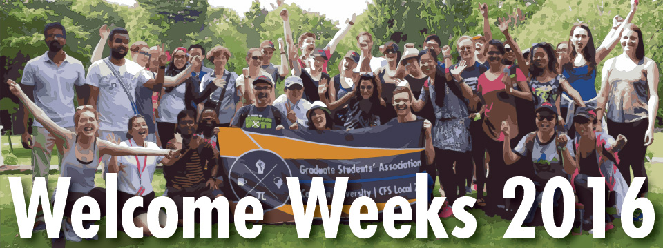 Welcome Weeks 2016-17