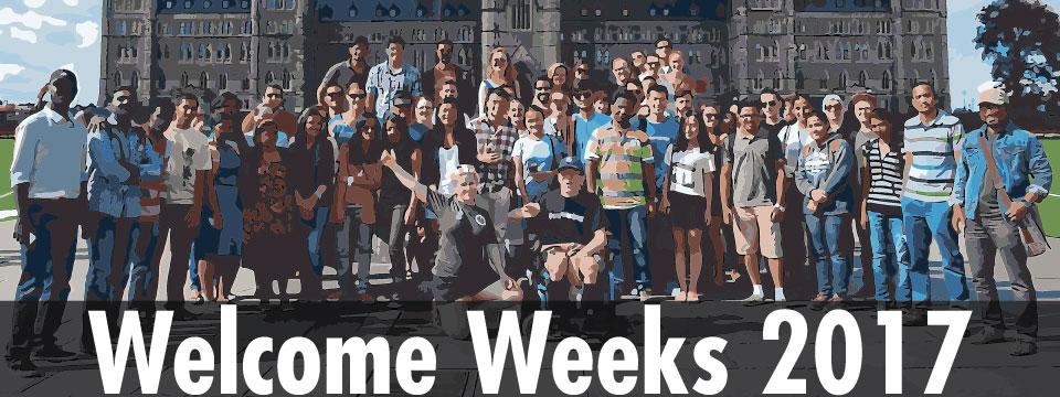 Welcome Weeks 2017