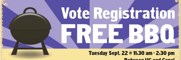 Vote Registration BBQ