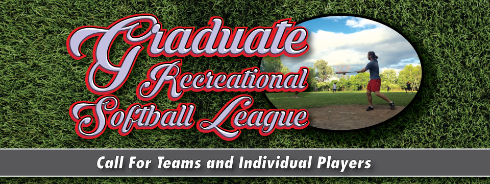 GSA Softball 2018: Call for Players and Teams