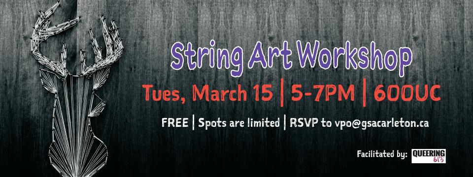 String Art Workshop